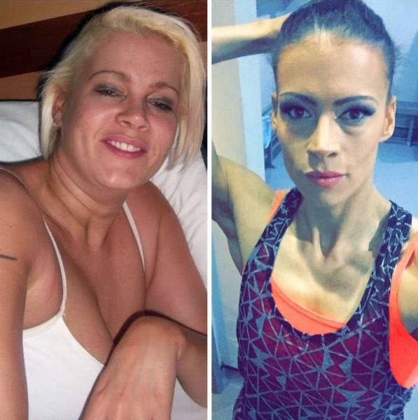 Woman Uses Bodybuilder to Change Her Weight and Her Life for Good