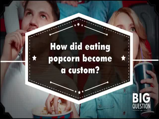 The Real Story Behind Why People Now Eat Popcorn at Movie Theatres