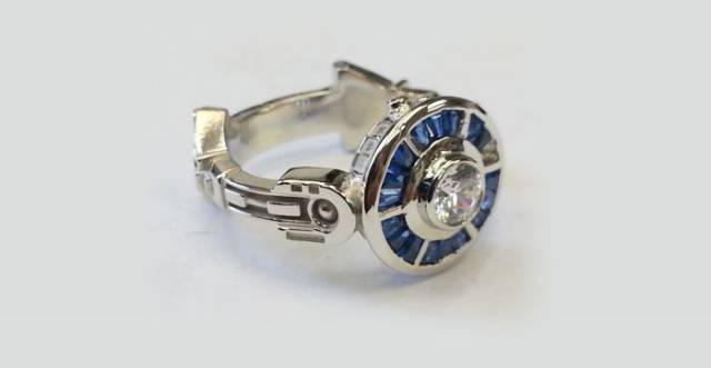 Stunning Nerdy Engagement Rings That Almost Every Girl Would Love