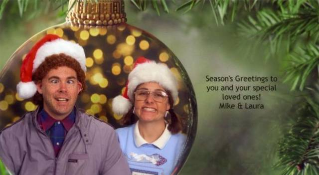 This Couple Have a Very Cool Christmas Card Tradition That They Have Kept Going for over a Decade