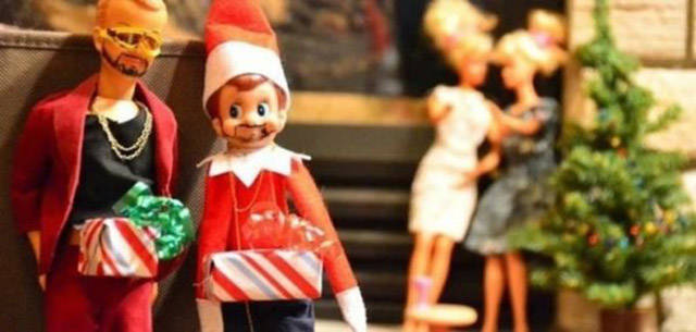 You Can Run but You Can't Hide from Elf on the Shelf