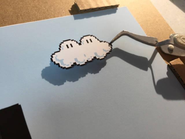 Creative Artist Recreates Video Game Levels in 3D Artwork