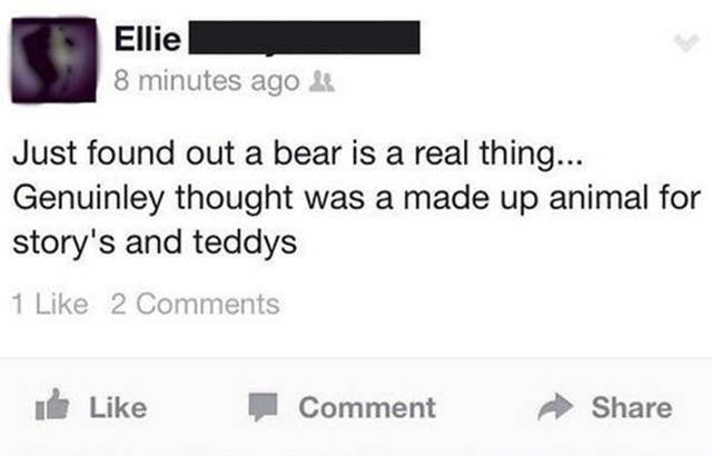 You Just Never Know What You Will Find on Facebook