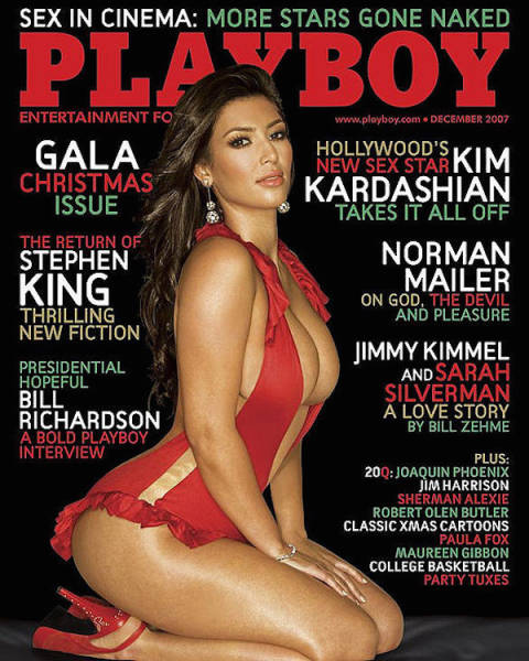 Stars Who Let Out Their Naughty Side by Posing for Playboy