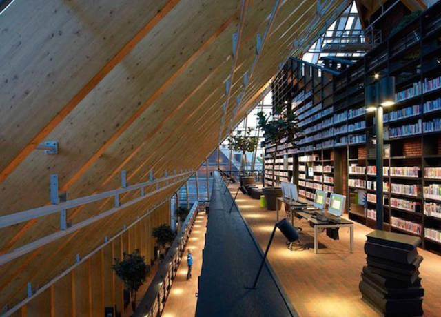This Dutch Library Is Like a Well Organised Warehouse for Books