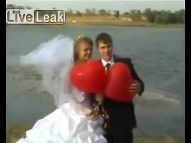 A Really Shocking Start to Any Marriage