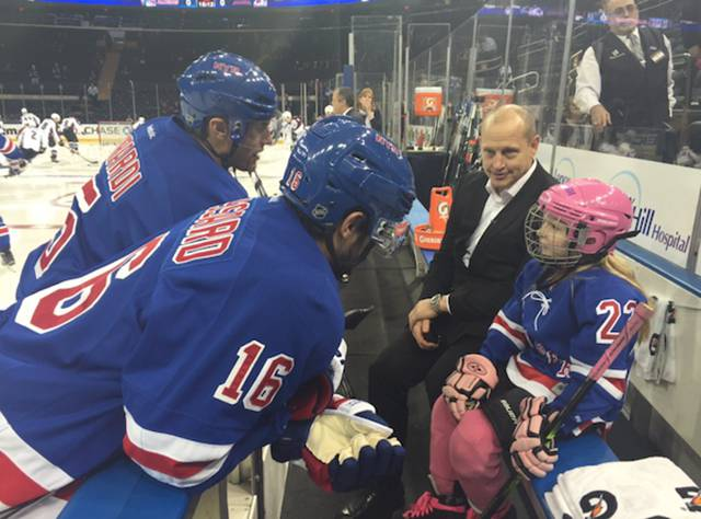 NY Rangers Get Their First Ever Female Teammate for a Day