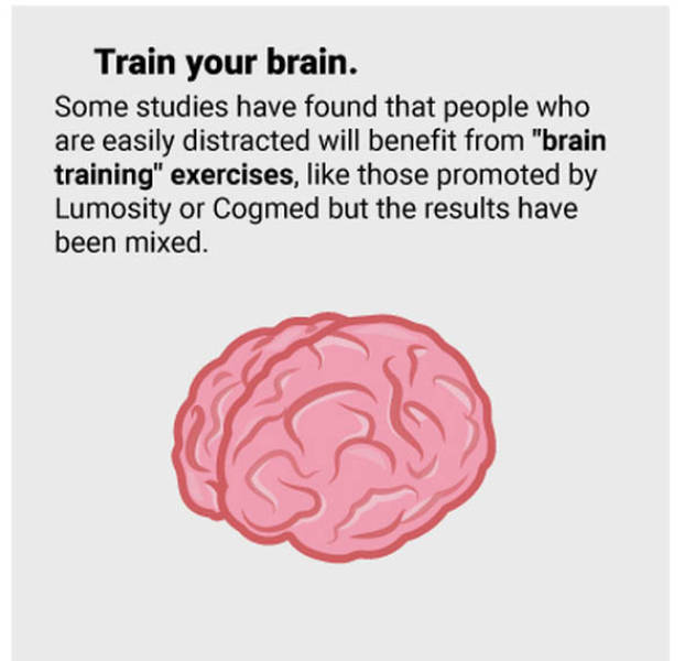 Things That Will Keep Your Concentration at It
