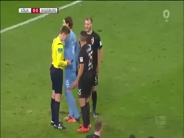 Goalkeeper Gets Caught on Camera Purposely Tampering with the Turf Before a Penalty Shot