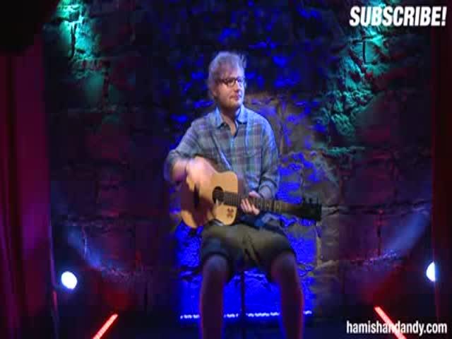 An Amusing Ed Sheeran Peep Show Prank That People Actually Fell for