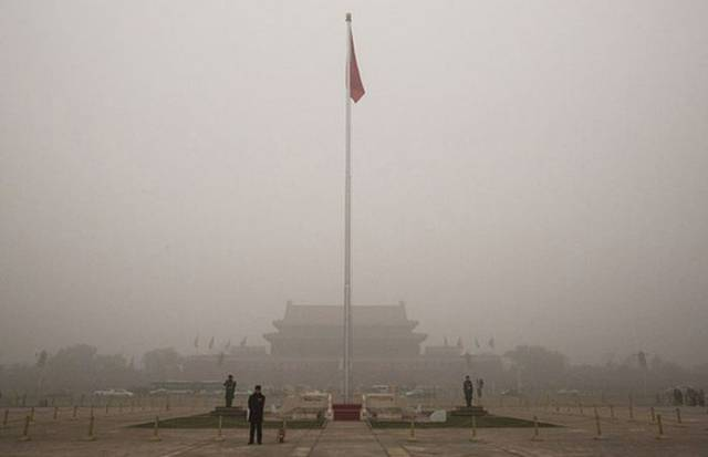 Revealing Photos Show How Polluted the City of Beijing Really Is