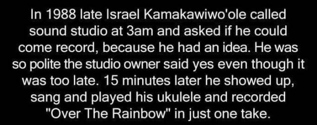 "The Surprising Story behind the Recording of ""Somewhere Over the Rainbow"""