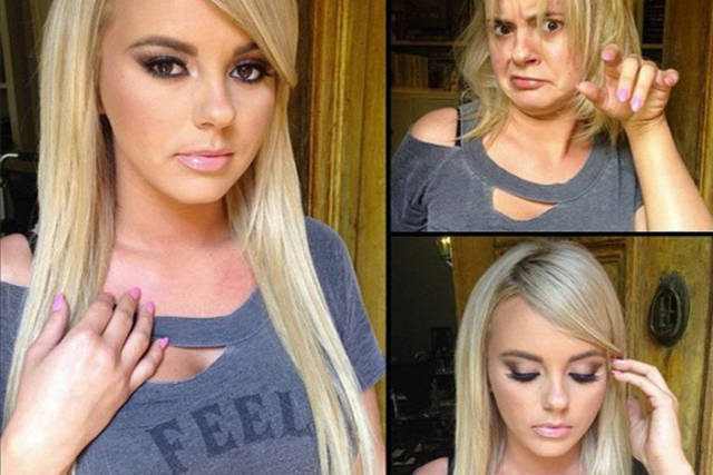 Hair and Makeup Makes Quite a Difference to the Hotness of These Adult Film Stars