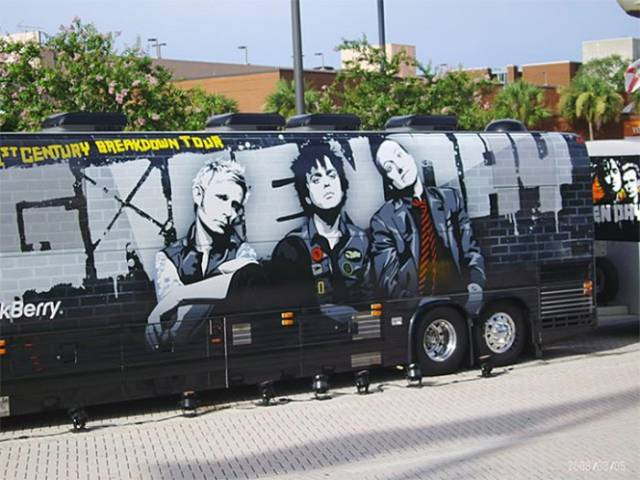 A Fun Look at the Transportation Rock Stars Use to Travel the World