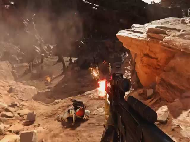 Awesome Star Wars Battlefront Real Life Mod Footage Recorded at 4K 60FPS