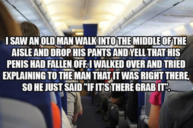 Flight Attendants Dish the Dirt on the Weirdest Sh#t They Have Ever Witnessed on Flights