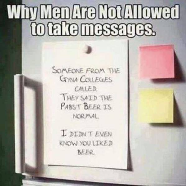 Husbands Make Their Own Rules for Life