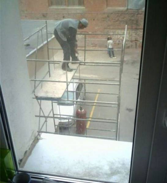 Safety Is Obviously Not a Big Priority Here