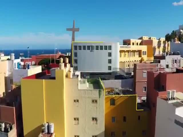 GoPro Camera Captures Danny MacAskill's Rooftop Antics in Spain