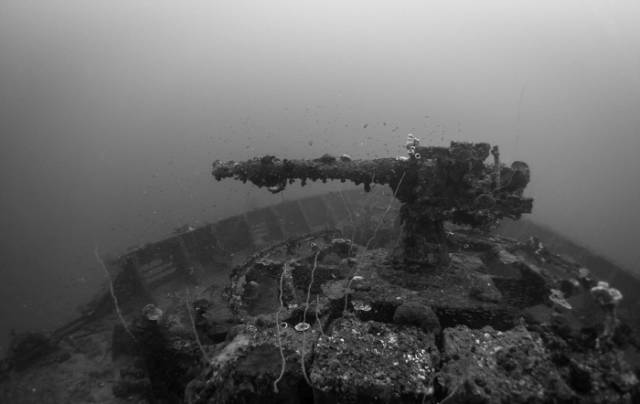A Fascinating Tour around a Bombed Underwater Naval Base