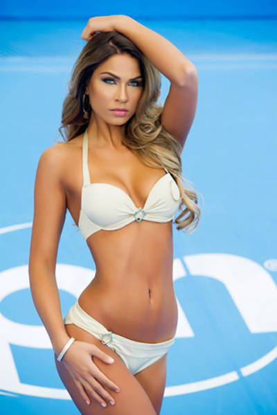 The Hot Babes of Miss Universe 2015 Look Beach Ready in Bikinis