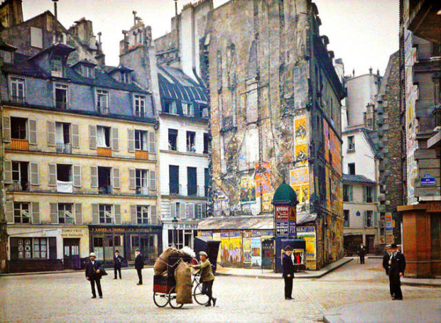 Stunning Colour Photos of Paris That are Over a Century Old