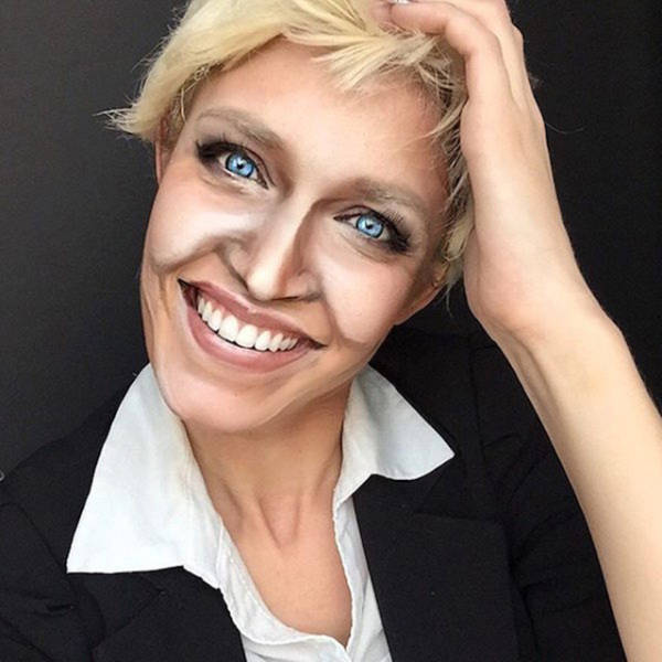 Talented Makeup Artist Transforms Herself into 100 Different Celebs