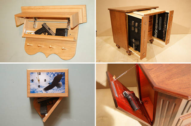 These Items of Furniture Double as Secret Storage Units