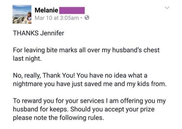 A Scorned Wife