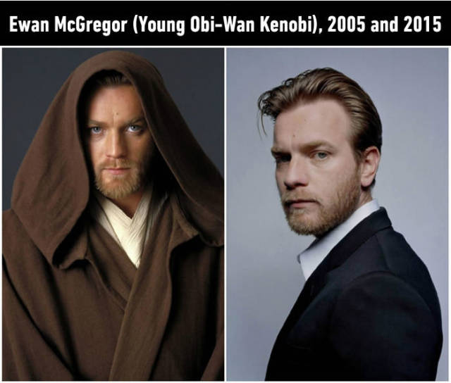 "The Stars of ""Star Wars"" Then and Now"