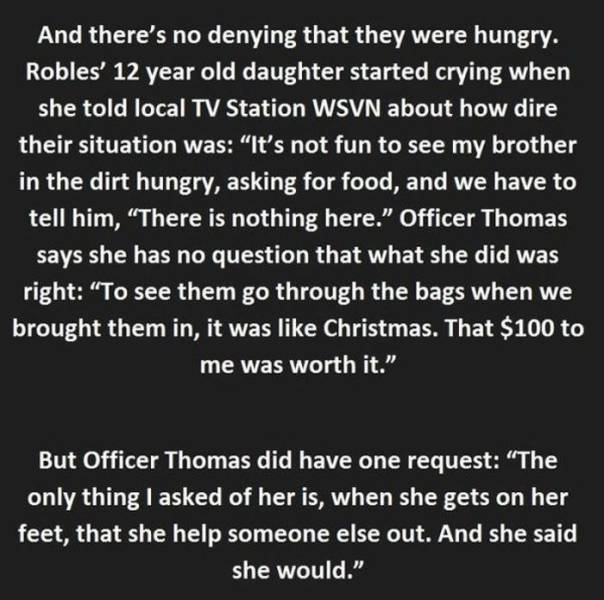 Female Police Officer Does the Kindest Thing for a Thief and Changes Her Life Forever