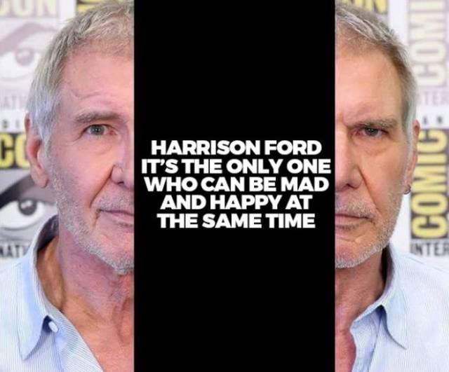 Harrison Ford Has a Super Special Skill That