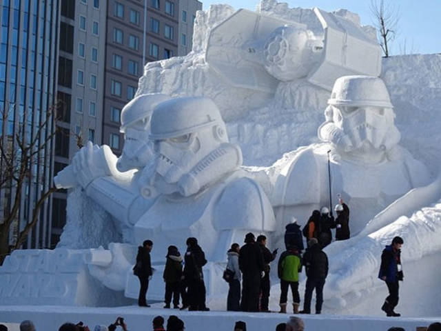These Snow Sculptures Will Blow Your Mind