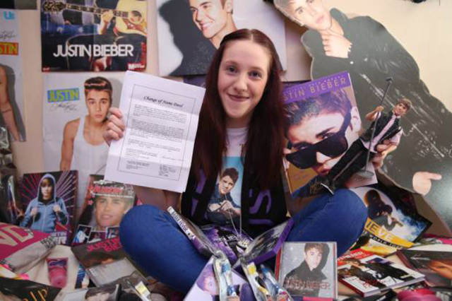 This Girl Has Taken Her Obsession with Justin Bieber Way too Far