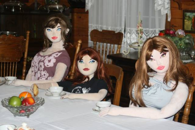 Lonely Man Use Sex Dolls as Substitute Girlfriends and Companions