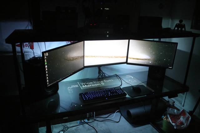 This Self Built Computer Desk Kicks a Ton of Ass