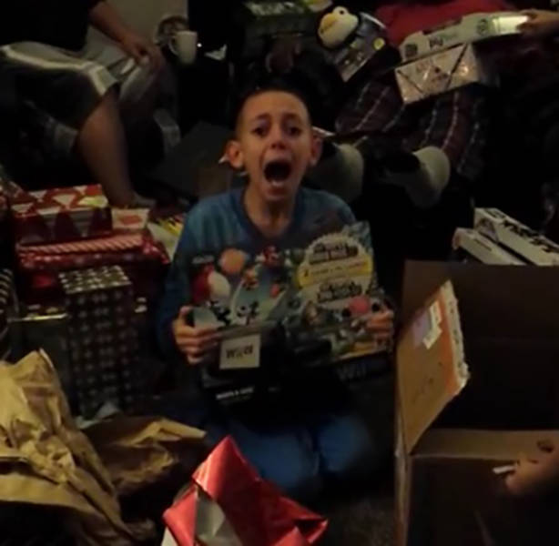 Video Games Make These Kids Christmases Complete