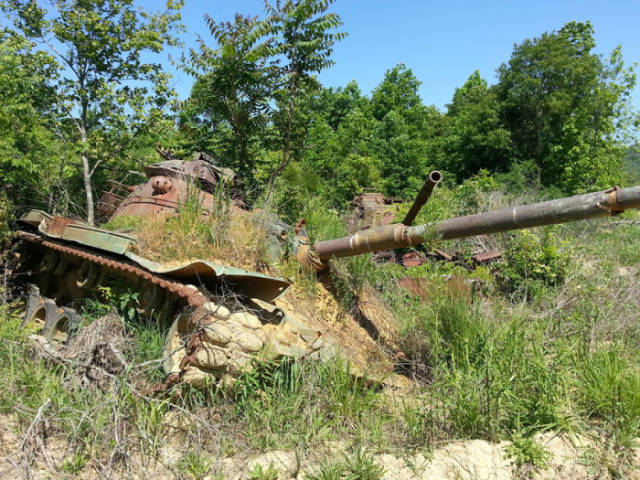Neglected Army Tanks That Have Since Been Adopted by Nature