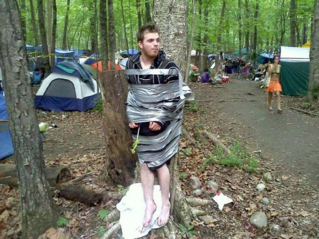 Oh the Joys of Camping