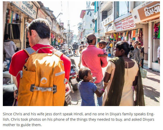 An Australian Couple Travel to India to Find a Special Girl from a Photograph