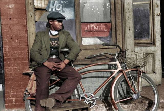 Old School Historical Pics Get the Full Color Treatment