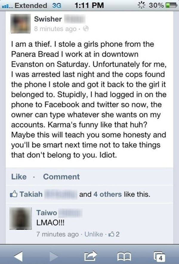 You Can Run but You Can't Hide from the Wrath of Karma