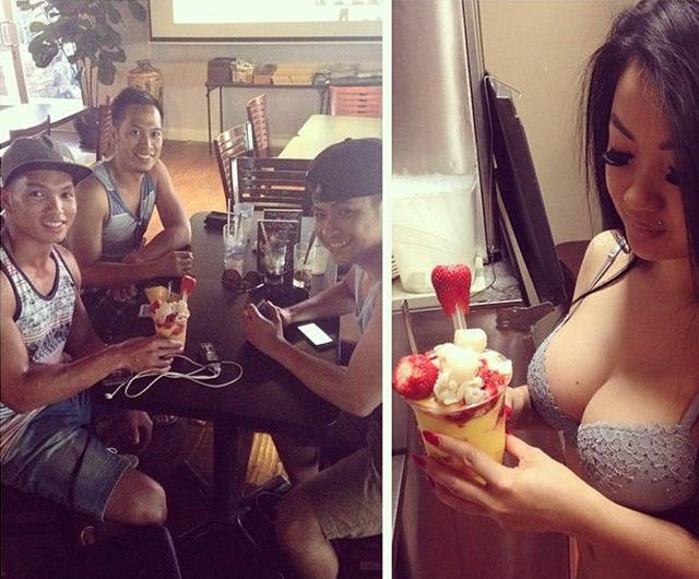 A Restaurant Where the Waitresses Wear Lingerie