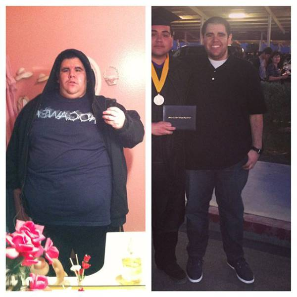 People Who Went from Fat to Fabulous with A Lot of Hard Work and Determination