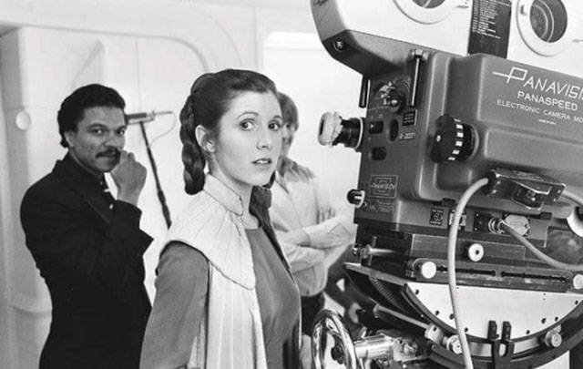 Candid Camera Star Wars : Candid vintage snaps taken on the u cstar warsu d set all those years