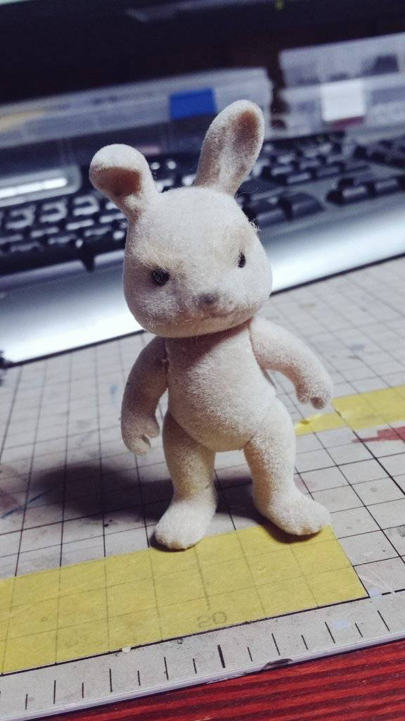 Imagination Dude Turns a Simple Japanese Toy into a Warrior Bunny