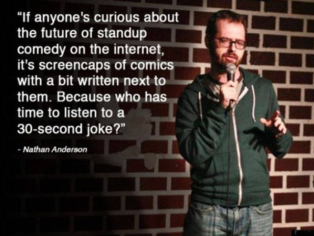 Some Surprisingly Wise Words from Comedians