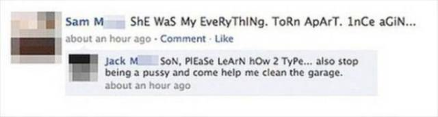 These Parents Hilariously Owned Their Kids On Facebook