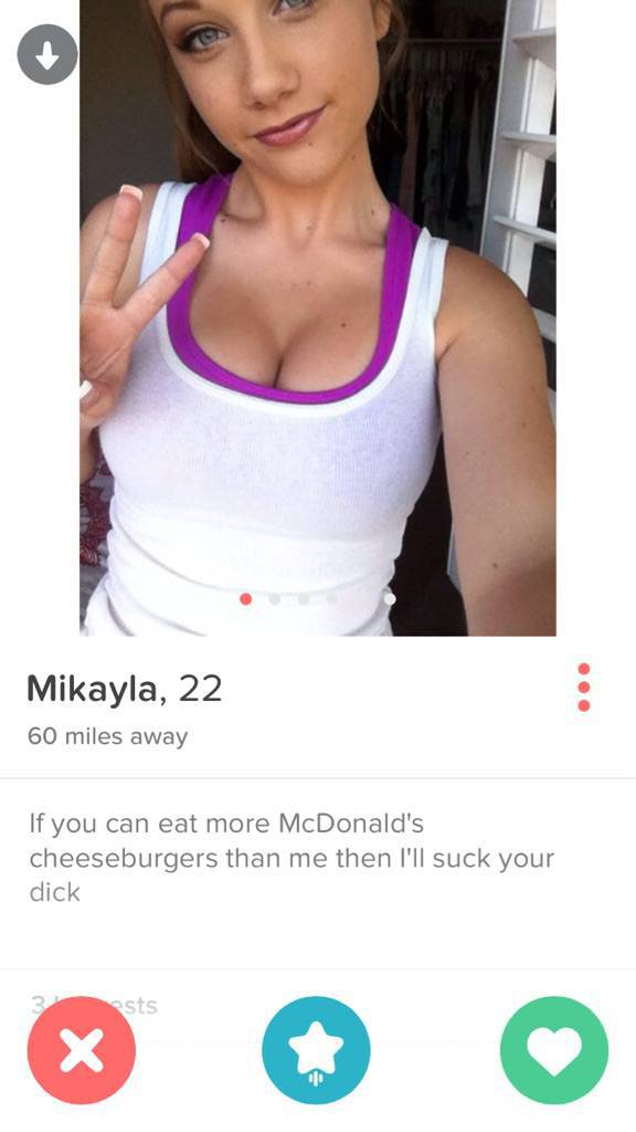 You Just Never Know What Kind of People You Will Find on Tinder