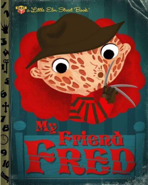 Illustrator Reimagines Pop Culture Icons as Child Friendly Books